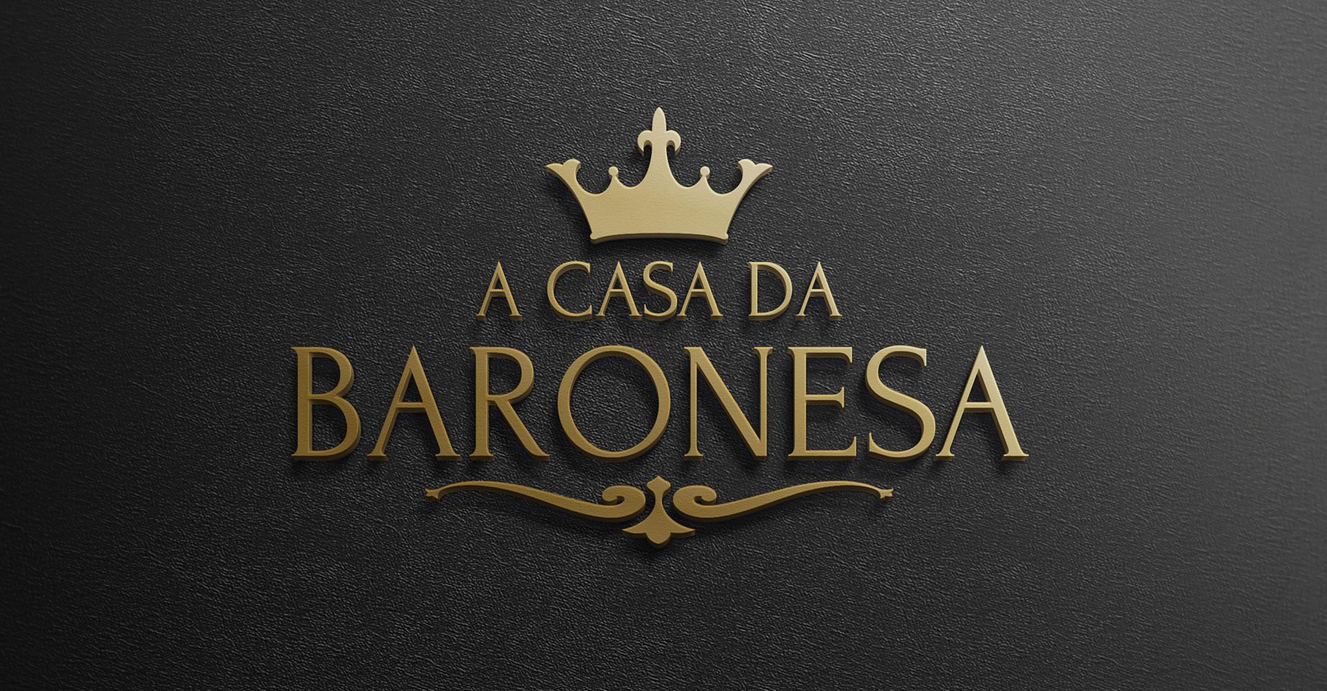 A Casa da Baronesa - Criação de Logotipo