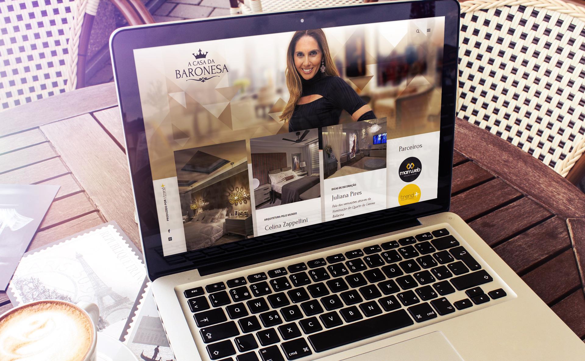 Criação de Blog de arquitetura e design