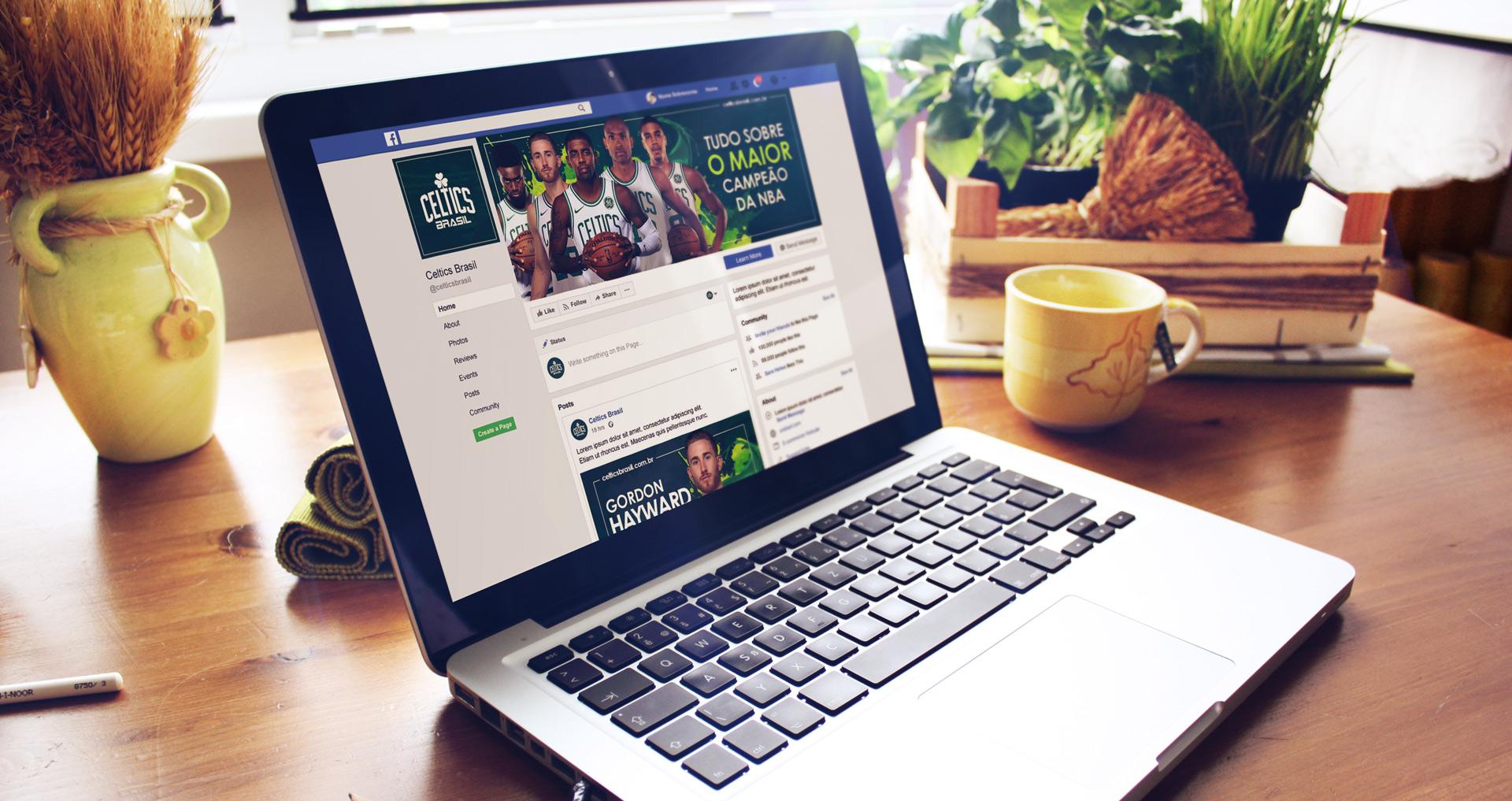 Celtics Brasil - Criação de conteúdo e personalização de redes sociais