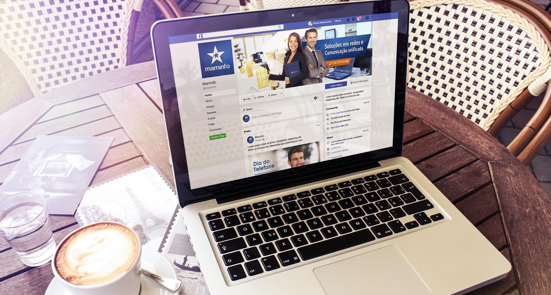 Personalização e gestão de Rede Social